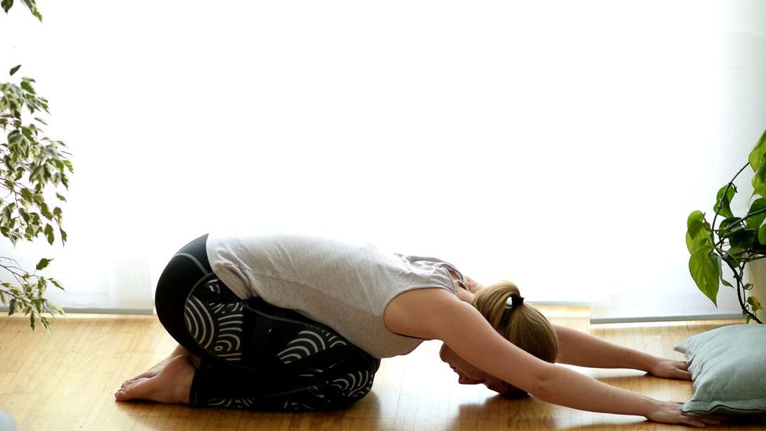 Yoga Übung gegen Verspannungen