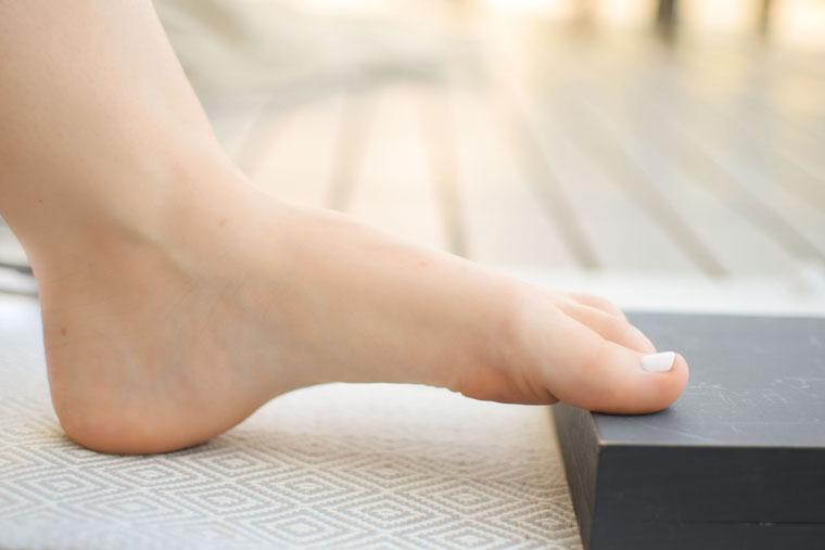 Fußmuskulatur trainieren